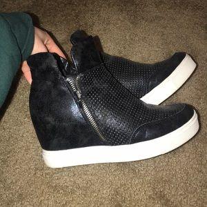 Steve Madden wedged sneakers